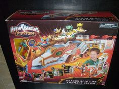 POWER RANGERS MYSTIC FORCE DRAGON ROOTCORE COMMAND CENTER RED DRAGON FIRE RANGER #Bandai
