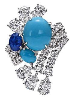 "Harry Winston Water ""Splash Turquoise"" Collection"