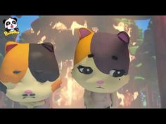 Baby Kitten's Daddy Got Injured in Forest Fire Wolf, Baby Kittens, Age, Kids Songs, Panda, Pikachu, Cartoon, Youtube, Fictional Characters