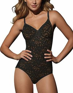 f8af7e0ae65b0 Buy Bali Lace Smooth Body Briefer at OneHanesPlace. Shapely and Comfortable  all over firm control with underwire support bra.