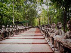 Cambodia Snapshots: Stairs to Phnom Santuk