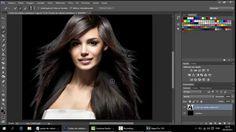 Como recortar cabelo e remover o fundo de uma imagem no Photoshop