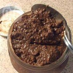 Rezeptbild: Schokopudding ohne Kochen mit Chia Samen