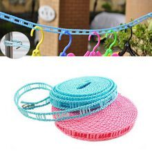 Fence Wind Clothesline Non Slip Clothes Line Rope With A Hook Rope