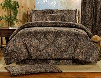 True Timber Conceal Brown Camo Bedding by Victor Mill is made in the USA and is perfect for those who adore a realistic woods pattern in brown camo colors.