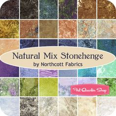 Natural Mix Stonehenge Stone Chips by Northcott Fabrics Northcott Fabrics CSTONE-11 - Fat Quarter Shop