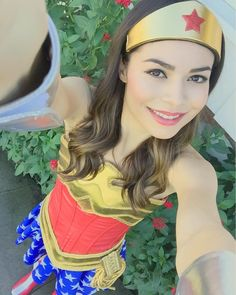 "211.8k Likes, 2,320 Comments - Miranda Cosgrove (@mirandacosgrove) on Instagram: ""Wonder Woman"""