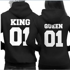 King and Queen Hoodies Mr Mrs, Jumper, Hooded Sweater, Matching Hoodies, Matching Couple Outfits, Matching Couples, Hip Hop, Nike Air Max, King Queen