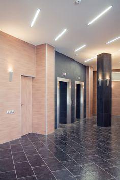 Бизнес-центр «Ермак» Реализация коридор 1 этажа