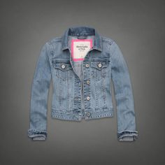 Denim Jacket | Abercrombie.com | Check out our Pin To Win Challenge at http://on.fb.me/UfLuQd