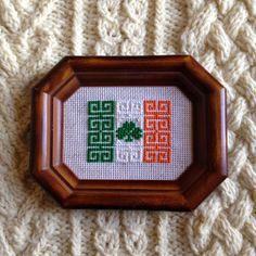 KBB Crafts & Stitches: Cross-Stitched Irish Flag
