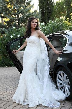 Wedding dress#silaba#lace#pronovias