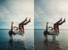 Before and After 'Levitation' Photos, Plus Tips and Tricks #tipsandtricks #creative #photography #howto