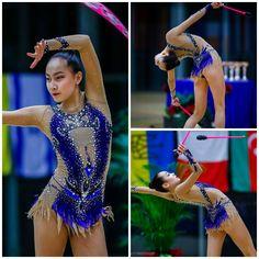 Rhythmic gymnastics leotard (photos by Ulrich Fassbender)
