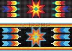Traditional (native) American Indian pattern