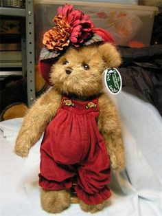 Bearington Collection - Marley - Plush Teddy Bear