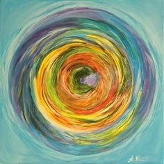Spinning by Anna Marie Lou