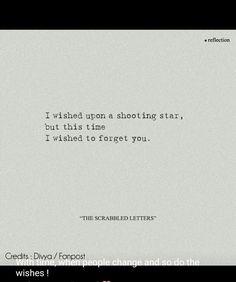 I wished for you. I always do.