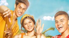 James and Pat and Dave Movie Review -- This Star Cinema movie is a sequel of the 2016 movie Vince and Kath and James of Julia Barretto and Joshua Garcia. Cinema Movies, Comedy Movies, Ronnie Alonte, Joshua Garcia, Donny Pangilinan, Pinoy Movies, Download Free Movies Online, Star, Watch