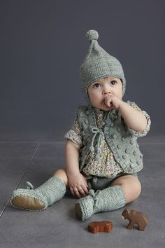 Just got a vest by Misha * Puff in the mail. I think I cried a tiny bit when we opened the wrapping paper. Worth EVERY single penny. Now I'm already thinking about what to get from their soon-to-be launched Winter collection. Maybe this vest? Or the cutest little hat?