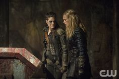 """The 100 """"Blood Must Have Blood, Part Two"""" S2EP16"""