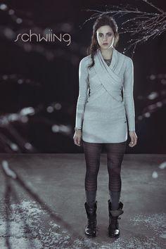 SAMIA - LIGHT GREY www.schwiing.net Grey, My Style, Sweaters, Dresses, Fashion, Fall Winter 2014, Gray, Vestidos, Moda
