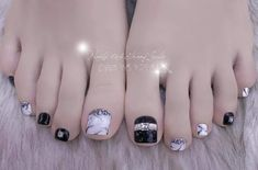 Pedicure Designs, Pedicure Nail Art, Toe Nail Designs, Nail Polish Designs, Toe Nail Art, Pretty Toe Nails, Cute Toe Nails, Pretty Toes, Feet Nail Design