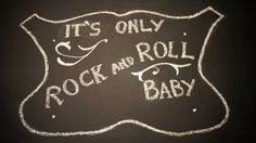 "Chalkboard Wall, Theme: ""History of Rock"" from the movie ""School of Rock""."