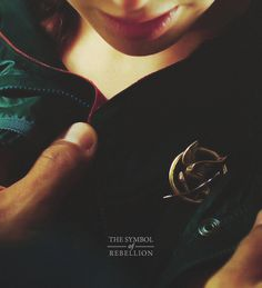 The symbol of the rebellion. The Mockingjay. #hunger #games #movie