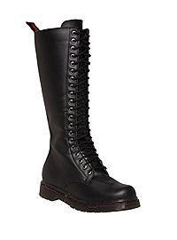 1a3c3573a5c5 COM - Demonia By Pleaser Black 17 Black Lace Up Boots