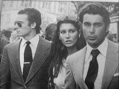 Two Toreros and one Woman: Jose Maria Manzanares Sr., Francisco Rivera Sr., and Carmen Ordoñez.