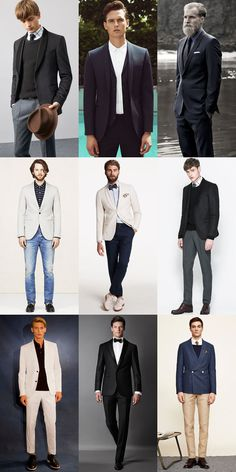 A Guide To Men's Blazer Lapels: The Shawl Lapel Modern Lookbook Inspiration