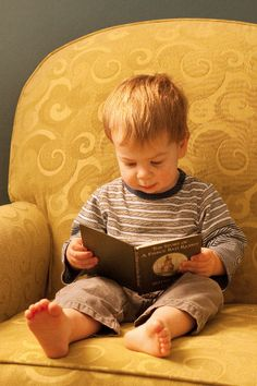 Reading on a Winter Afternoon by k.baillie, via Flickr - catch 'em young.