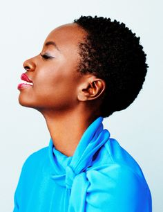 'I feel very blessed to have opportunities right now that I definitely  want to see through, opportunities that I yearned for and that are  starting to really happen. The possibility of seeing these  opportunities through could bless a lot of other people, and so that is a  responsibility and it is one I cannot take lightly.' - Danai Gurira for DuJour