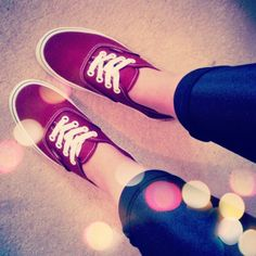 wine coloured vans, just bought these badboys!