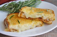 Apple butter and rosemary muenster grilled cheese | 18 Grilled Cheeses That Will Melt Your Brain