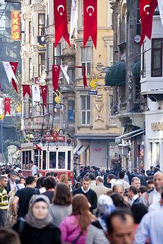 İstiklal Caddesi, Istanbul, Turkey