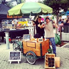 Icicle Tricycles builds and sells custom vending bikes, ice cream bikes, coffee bikes, cold brew coffee bikes, book bikes, beer bikes, mobile marketing bikes, & custom cargo trikes.