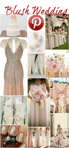 Lovely Blush Wedding ideas <3 ... please visit also www.italy-weddingplanner.com for great tips! :) xx