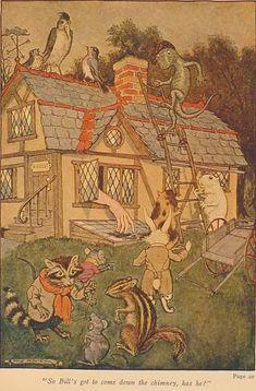 Milo Winter, Alice in Wonderland, 1916.
