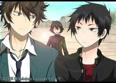 Izaya,  Shizou,  Shinra