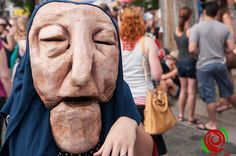 Heart of the Beast Theatre @ Bastille Day Block Party by Stuart Wainstock Rose City Live, via Flickr