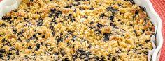 Borůvkový koláč s podmáslím - Spicy Crumbs Banana Bread, Macaroni And Cheese, Spicy, Ethnic Recipes, Food, Mac And Cheese, Essen, Meals, Yemek