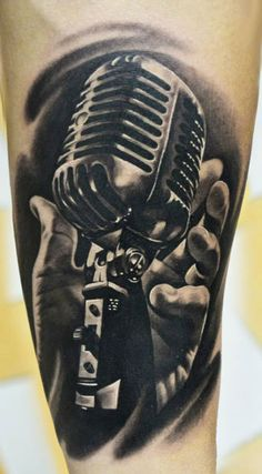 Tattoo Artist - A.d. Pancho - music tattoo