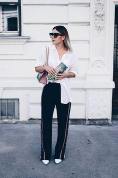 10 looks super estilosos com calça esportiva