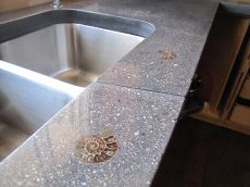 Kitchen Concrete Countertop, By Jamie Munro, Made With CHENG Countertop  Pro Formula In