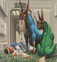 70s Sci-Fi Art: boomerstarkiller67: Ralph McQuarrie - Sci-fi...