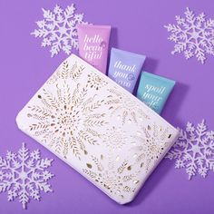 MONAT gift set. Hand it to yourself!  Use these three delightful hand creams – Thank You XO XO, Hello Beautiful and Spoil Yourself -- not only to moisturize your hands but to give yourself a reflexology massage that will sooth your soul. With scents like Coconut, Apple and Matcha placed neatly in a white and gold laser cut cosmetic bag, this could only be a MONAT Exclusive! 😀  Available for preorder starting today! More about this set: PureHeart.MyMonat.com #MONATHoliday