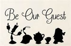 Be Our Guest Sign from beauty & beast - Yahoo Search Results Yahoo Image Search Results
