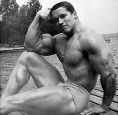 Arnold Schwarzenegger - nothing personal but I think all body builder bodies are gross.
